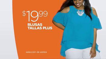 JCPenney Evento Con lo Último en Moda de Verano TV Spot, 'Blusas' [Spanish] - Thumbnail 2