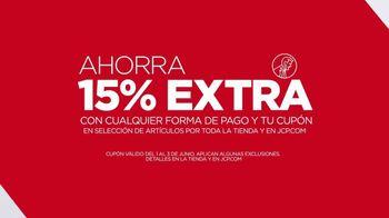 JCPenney Evento Con lo Último en Moda de Verano TV Spot, 'Blusas' [Spanish] - Thumbnail 4
