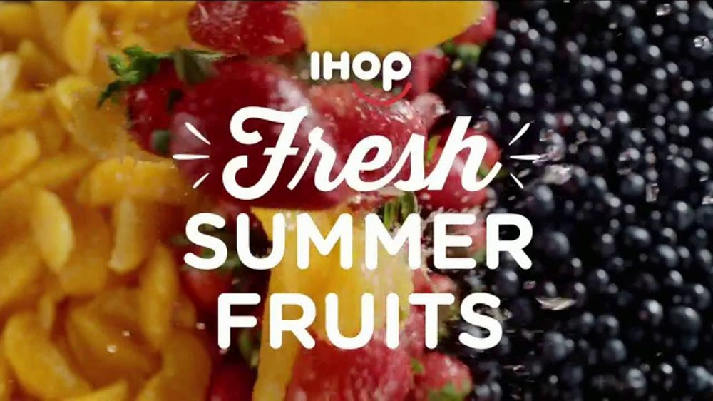 IHOP TV Commercial, 'Juicy, Fresh Fruit at IHOP'