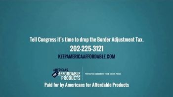 Americans for Affordable Products TV Spot, 'Drop The BAT Tax' - Thumbnail 5