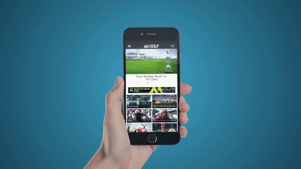 Golf Channel App TV Commercial, 'Never Miss a Moment'