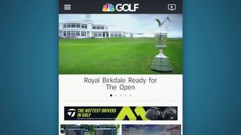 Golf Channel App TV Spot, 'Never Miss a Moment' - Thumbnail 3