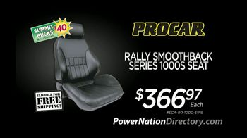 PowerNation Directory TV Spot, 'Seats, Sway Bars and Driveshafts'