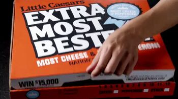 Little Caesars EXTRAMOSTBESTEST Pizza TV Spot, 'Big Dreams' - Thumbnail 8