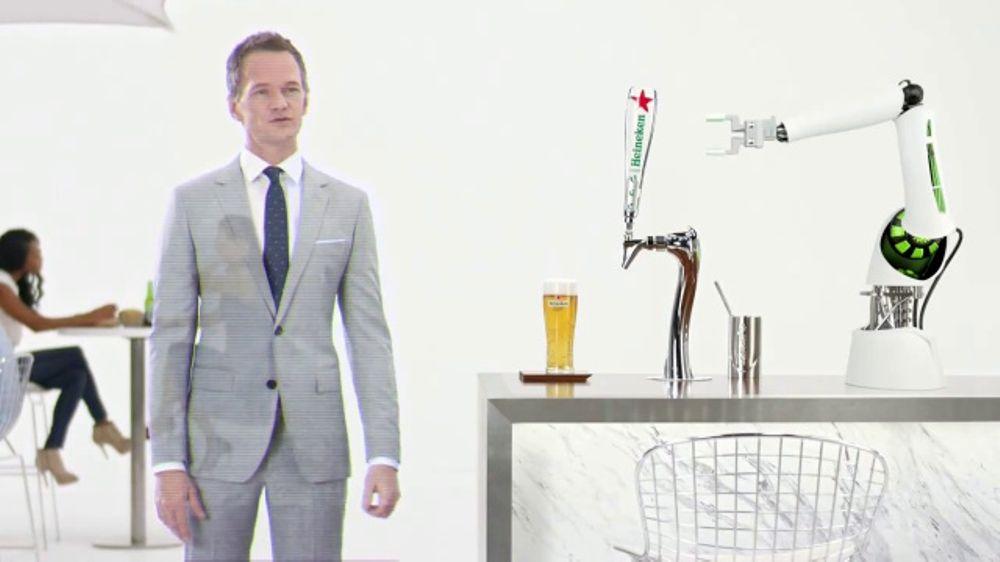 Heineken Light TV Commercial, 'Hologram' Featuring Neil Patrick Harris