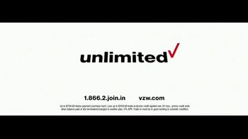 Verizon Unlimited TV Spot, 'Live Wedding' Featuring Thomas Middleditch - Thumbnail 7