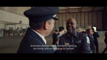 American Airlines TV Spot, 'Stand Up 2 Cancer: Donate' Feat. Bradley Cooper - Thumbnail 8