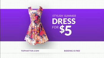 Tophatter TV Spot, \'Brand Name Products: Summer Dress and Ring\'