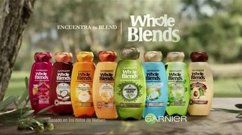 Garnier Whole Blends TV Spot, 'Descubre el Smoothing Oil' [Spanish] - Thumbnail 8
