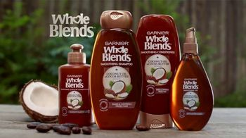 Garnier Whole Blends TV Spot, 'Descubre el Smoothing Oil' [Spanish] - Thumbnail 6
