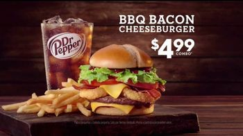 Jack in the Box BBQ Bacon Cheeseburger TV Spot, 'Boda' [Spanish] - Thumbnail 7