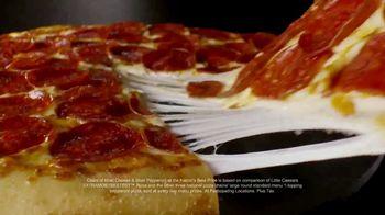 Little Caesars EXTRAMOSTBESTEST Pizza TV Spot, 'The Pizza Economy' - Thumbnail 8