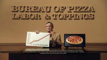 Little Caesars EXTRAMOSTBESTEST Pizza TV Spot, 'The Pizza Economy' - Thumbnail 3