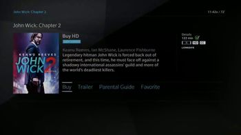 XFINITY On Demand TV Spot, 'John Wick: Chapter Two' - Thumbnail 5