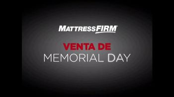 Mattress Firm Venta de Memorial Day TV Spot, 'Juego de colchones' [Spanish] - Thumbnail 2