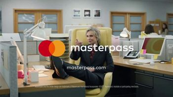 MasterCard MasterPass TV Spot, 'Office Chaos' Featuring Jane Lynch - Thumbnail 10