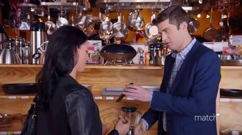 Match.com TV Spot, 'Match on the Street: Cooking' - Thumbnail 5