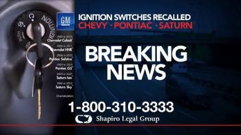 Shapiro Legal Group TV Spot, \'Defective Vehicle Parts\'