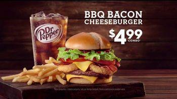 Jack in the Box BBQ Bacon Cheeseburger Combo TV Spot, 'Camioneta' [Spanish] - Thumbnail 7