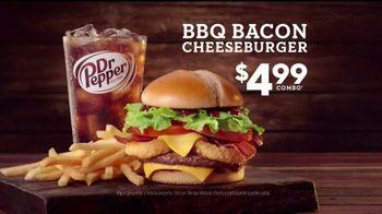 Jack in the Box BBQ Bacon Cheeseburger Combo TV Spot, 'Camioneta' [Spanish] - Thumbnail 2
