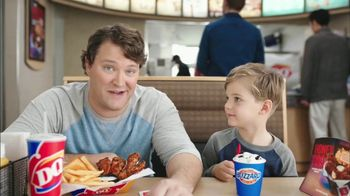 Dairy Queen Honey BBQ Glazed Chicken Strip Basket TV Spot, 'Dad Thing'
