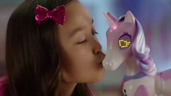Zoomer Enchanted Unicorn TV Spot, 'Magical Pony With a Rainbow Horn'