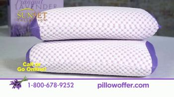 Tranquil Lavender Pillow TV Spot, 'Improve the Quality of Your Sleep' - Thumbnail 10