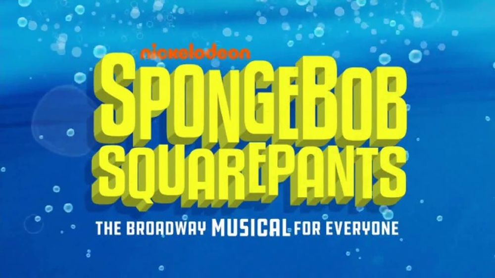 nickelodeon spongebob squarepants the broadway musical tv