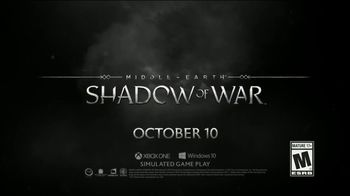 Middle-earth: Shadow of War TV Spot, 'The War for Mordor Begins' - Thumbnail 9