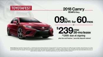 Toyota Toyotafest TV Spot, '2018 Camry: This Is What I'm Looking For' [T2] - Thumbnail 7