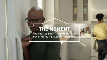 Lowe's Samsung Appliances TV Spot, 'The Moment: Not Enough Space'