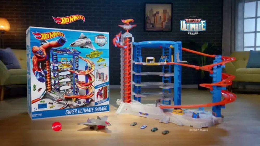 Hot Weels Garage : Hot wheels super ultimate garage tv commercial full of action