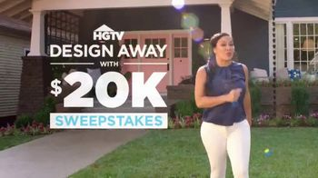 HGTV Design Away With $20K Sweepstakes TV Spot, 'Design Your Own Oasis'