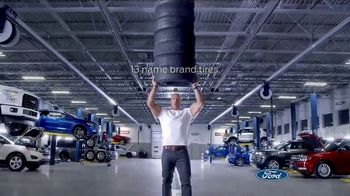 Ford Big Tire Event TV Spot, 'We're Strong' Featuring Dwayne Johnson - Thumbnail 3