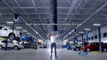 Ford Big Tire Event TV Spot, 'We're Strong' Featuring Dwayne Johnson - Thumbnail 5