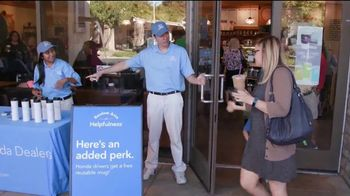 Honda TV Spot, 'Random Acts of Helpfulness: Coffee Day' [T2] - Thumbnail 9