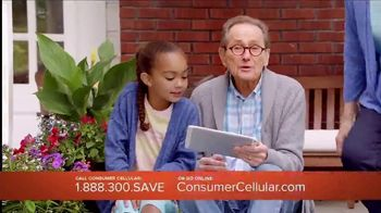 Consumer Cellular TV Spot, 'Porch: Plans $15 a Month' - Thumbnail 2