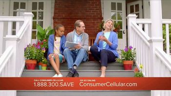 Consumer Cellular TV Spot, 'Porch: Plans $15 a Month' - Thumbnail 3