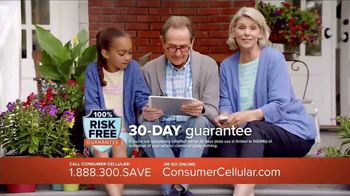 Consumer Cellular TV Spot, 'Porch: Plans $15 a Month' - Thumbnail 4