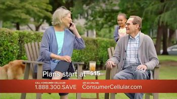 Consumer Cellular TV Spot, 'Porch: Plans $15 a Month' - Thumbnail 6