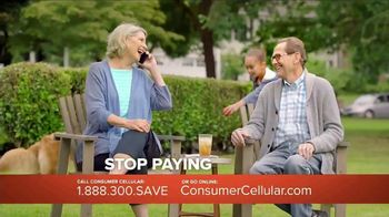 Consumer Cellular TV Spot, 'Porch: Plans $15 a Month' - Thumbnail 7