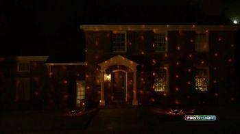 Points of Light Halloween Projector TV Spot, 'Brilliant Displays'