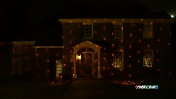 Points of Light Halloween Projector TV Spot, 'Brilliant Displays'