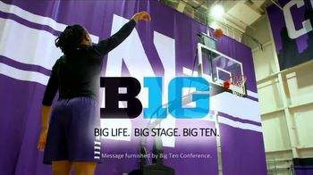 Big Ten Conference TV Spot, 'Faces of the Big Ten: Pallas Kunaiyi Akpanah' - Thumbnail 10