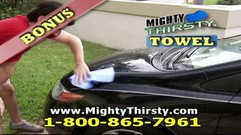 Mighty Thirsty TV Spot, 'Sponges Never Thrill' - Thumbnail 7