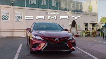 2018 Toyota Camry TV Spot, 'Despampanante' [Spanish]