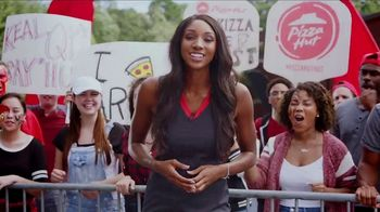 Pizza Hut Rewards TV Spot, 'ESPN: Free Pizza Faster' Featuring Maria Taylor