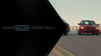 XFINITY On Demand TV Spot, \'X1: Baby Driver\'