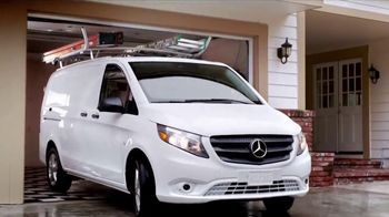 2017 Mercedes-Benz Metris TV Spot, 'Hauls More' - Thumbnail 10