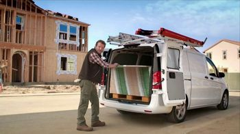 2017 Mercedes-Benz Metris TV Spot, 'Hauls More' - Thumbnail 2